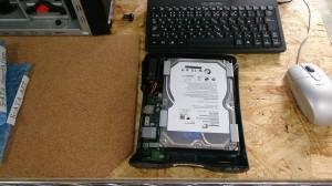 NAS HDD交換